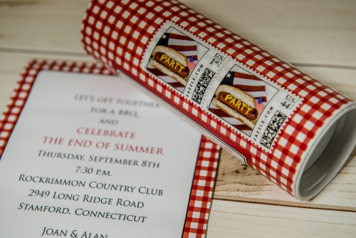 BBQ Holiday celebration invites by EAF fine papers