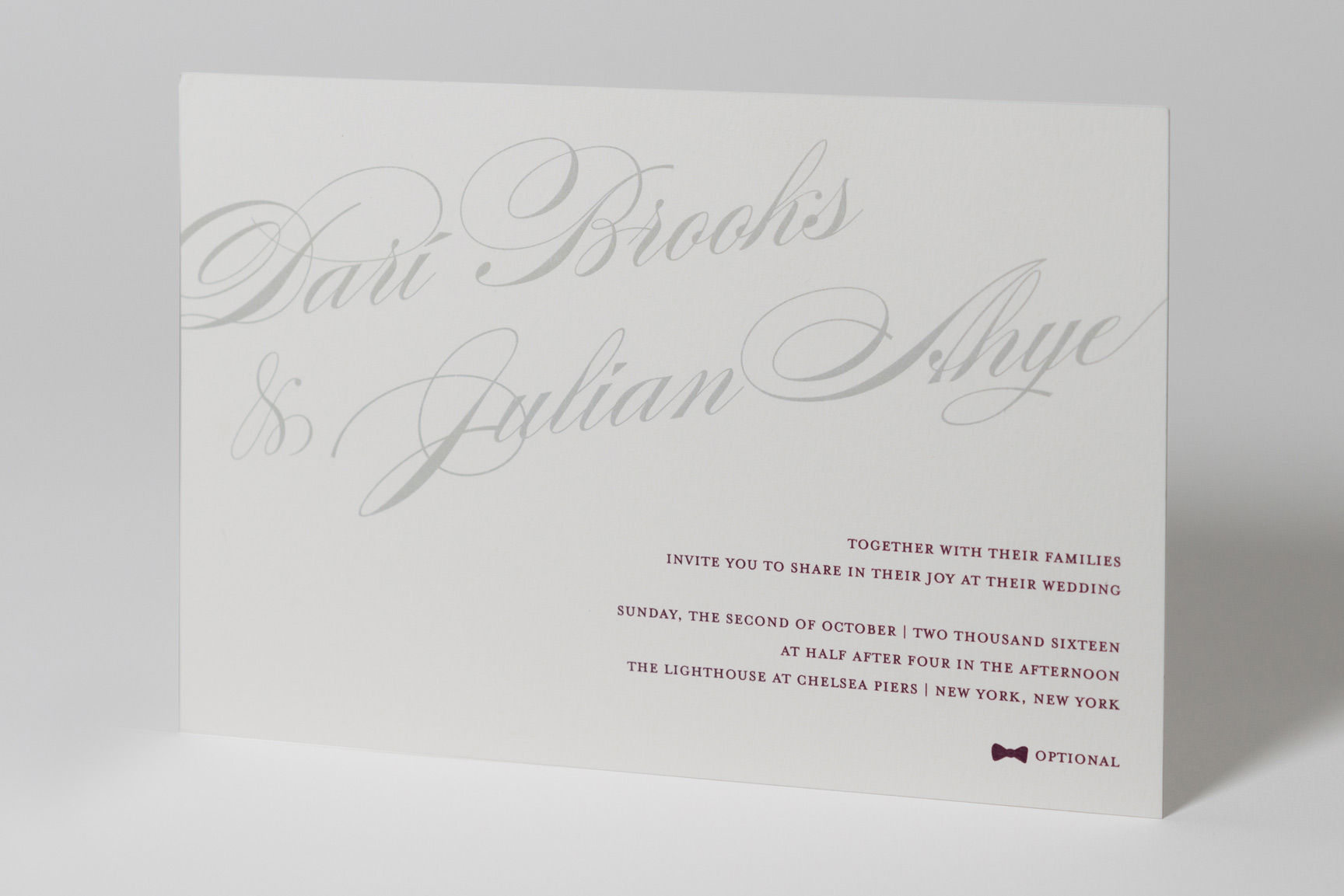 fine papers unique wedding designs