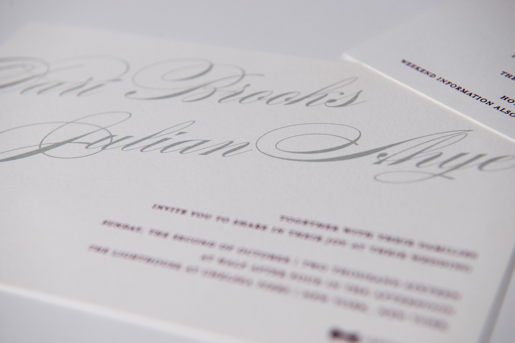 exciting personal wedding invitation