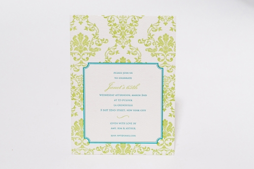 Personalized Invitaitons Manhattan