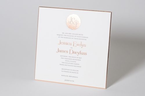 personal wedding invitation design