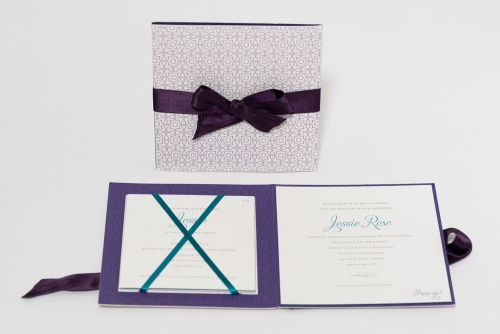 unique bat mitzvah invitaitons by Elyse