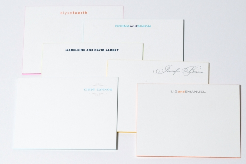 letterpress couples notes