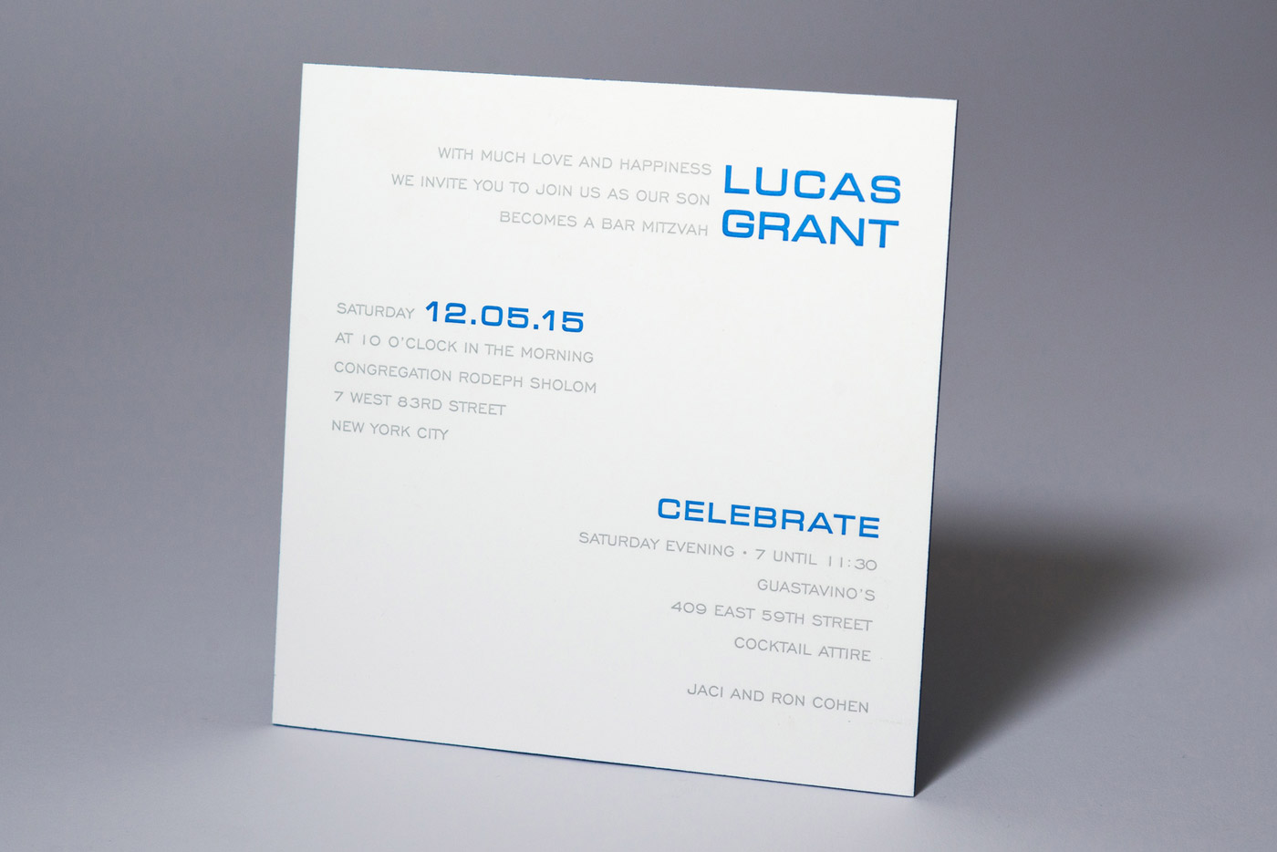 cool, unique bar mitzvah invites for you