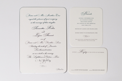 personal invitation design