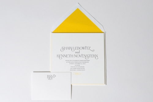 Custom Wedding by EAF fine papers